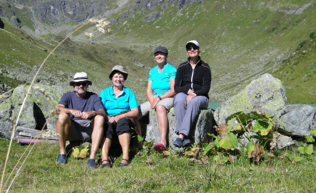 Am Seetalsee in der Silvretta