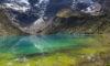 Gletschersee in Peru