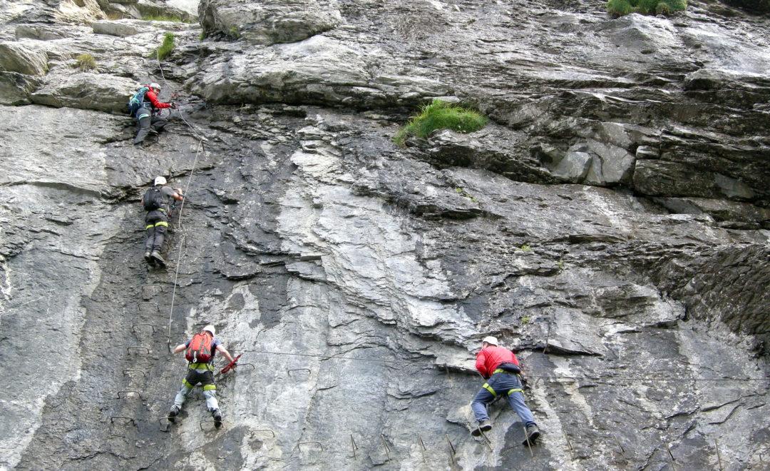 Klettersteig Fürenwand in Engelberg