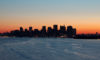 Manhattan bei Sonnenaufgang