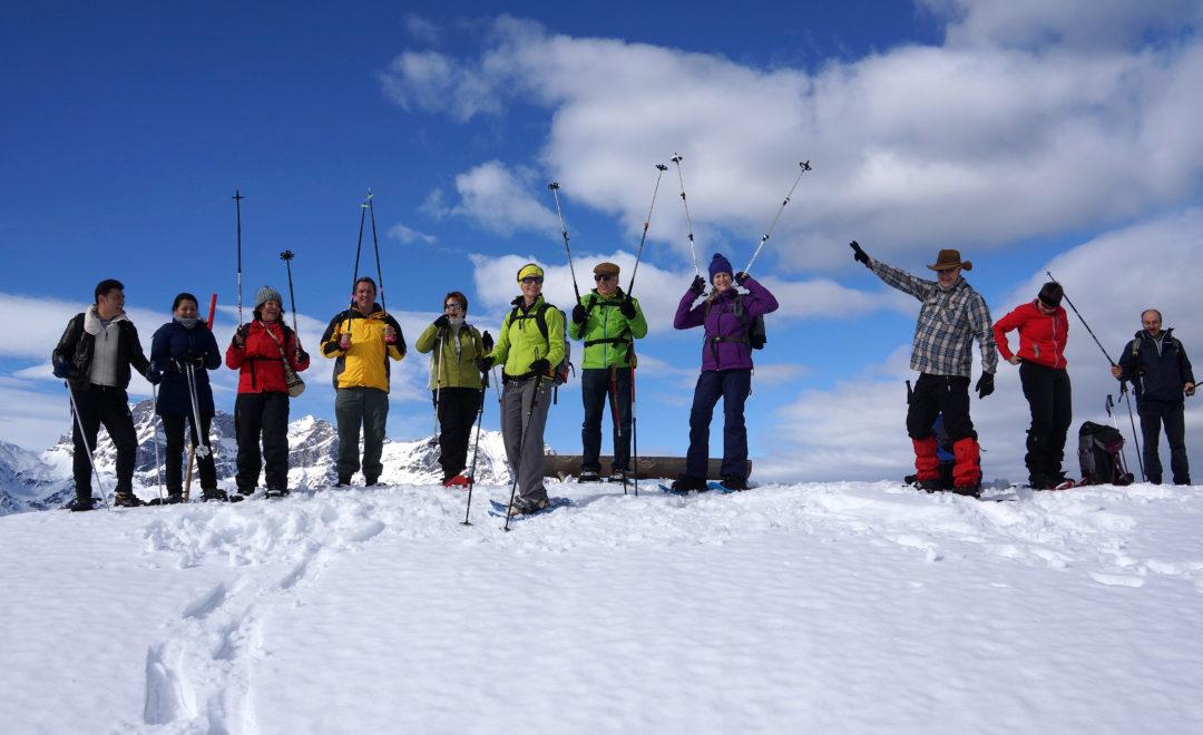 Schneeschuhtour Haldigrat